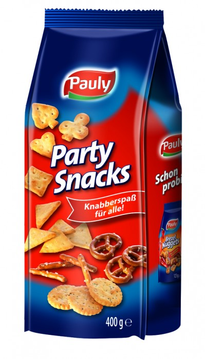 PAULY PARTY SNACKS 400 GR
