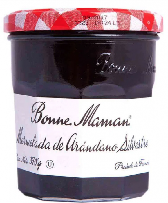 BONNE MAMAN ARÁNDANOS SILVESTRE 370 GR