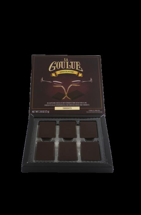 LA GOULUE CHOCOLATE SEMI AMARGO TORRONTES 72 GR