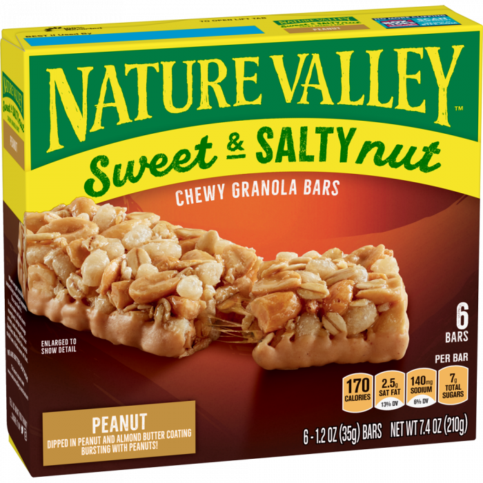 NATURAL VALLEY SWEET & SALTY 210 GR
