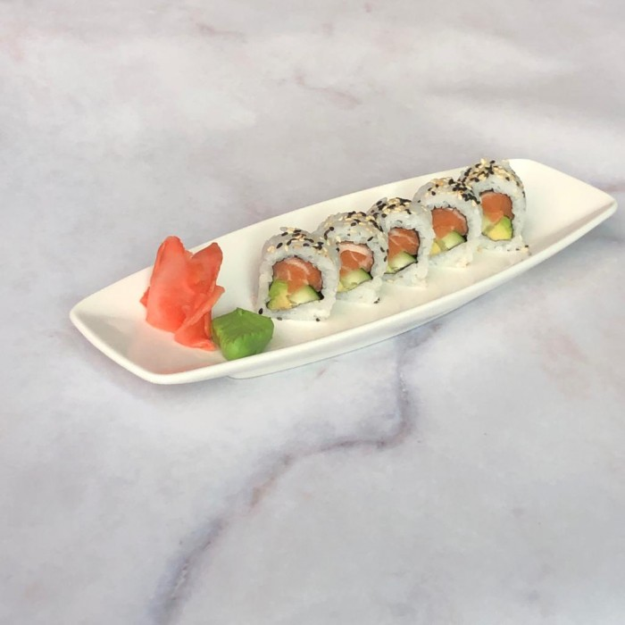 ROLLS NEW YORK - 5 P. (salmón, palta y pepino)