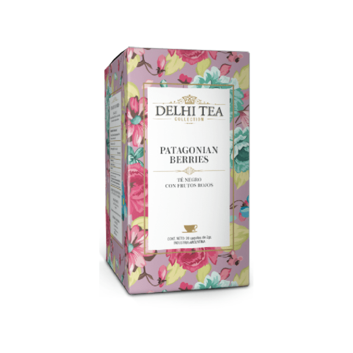 DELHI TEA PATAGON BERRIES 40 GR