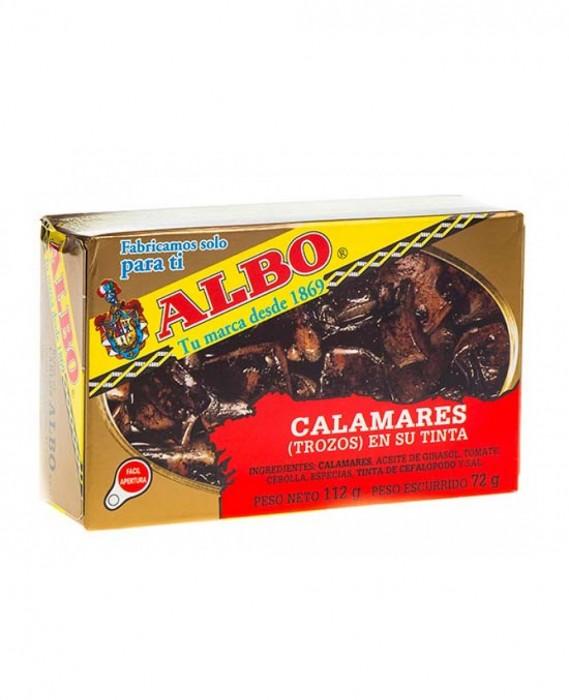 ALBO CALAMAR EN SU TINTA 112 GR