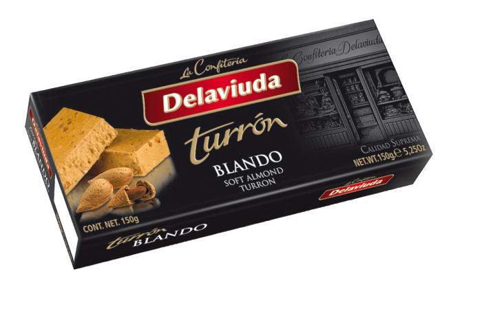 DELAVIUDA TURRON BLANDO 150 GR