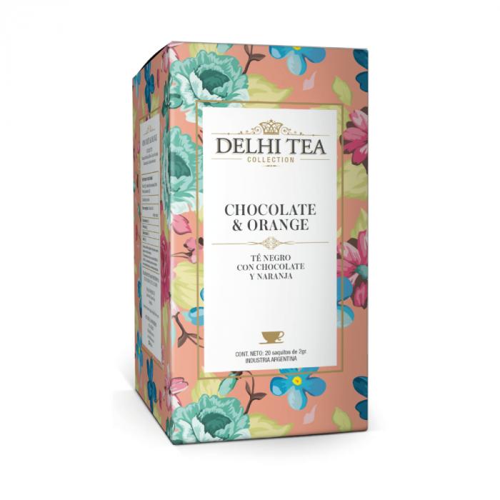 DELHI TEA CHOCOLATE ORANGE 40 GR