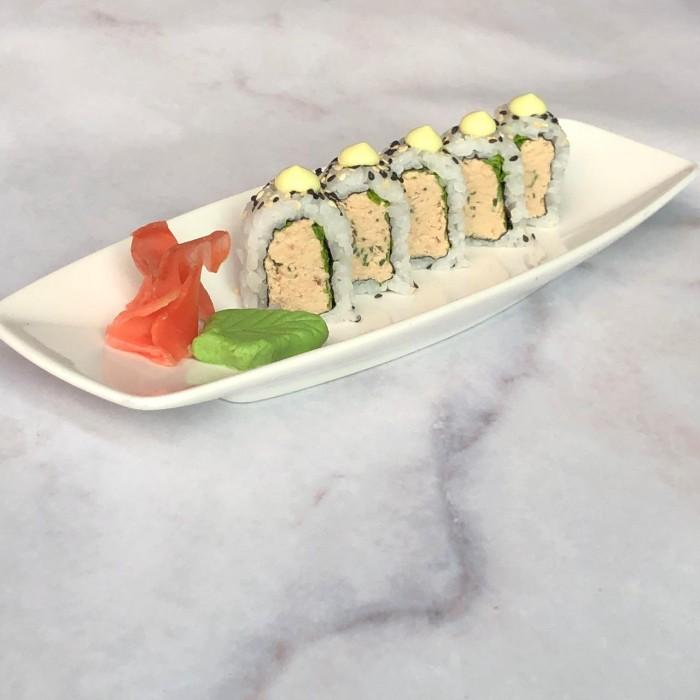 CLASSIC ROLLS TUNA CREAM - 5 P. (atún, ciboulette con salsa de mayonesa de wasabi)