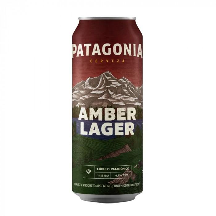 PATAGONIA AMBER LAGER LATA 473