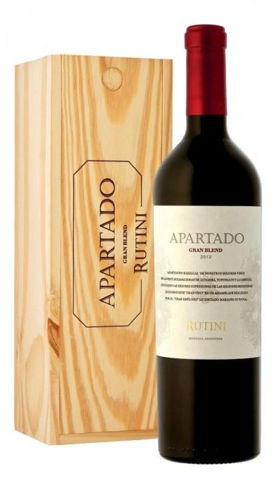 VINO RUTINI APARTADO GRAN BLEND ESTUCHE 750 CC