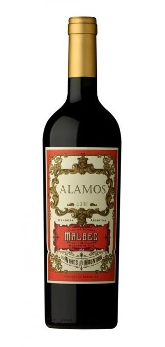 VINO ALAMOS MALBEC 750 CC