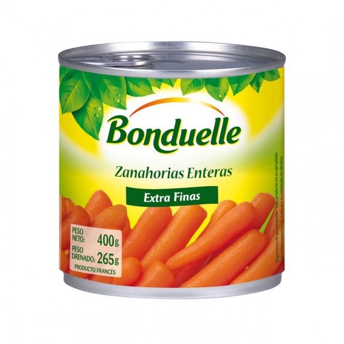 BONDUELLE ZANAHORIAS LATA 400GR