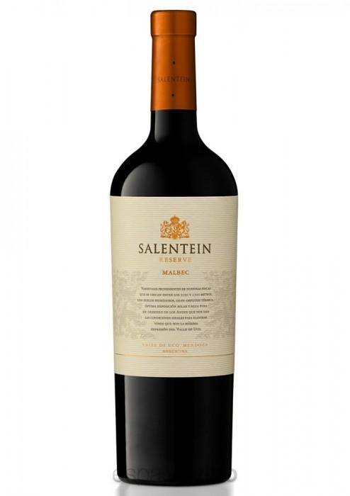 VINO SALENTEIN RESERVA MALBEC 750 CC