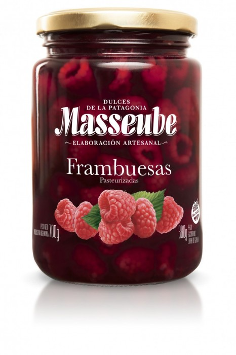 MASSEUBE FRAMBUESAS 700 GR