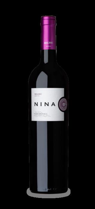 VINO NINA MALBEC 750 CC