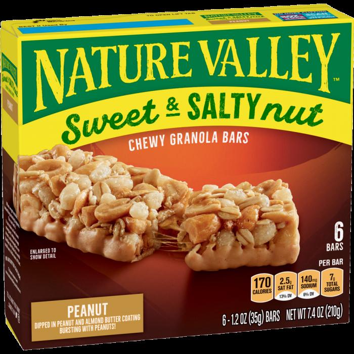 NATURAL VALLEY PEANUT  210 GR