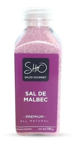 SHIO SAL DE MALBEC 200 GR