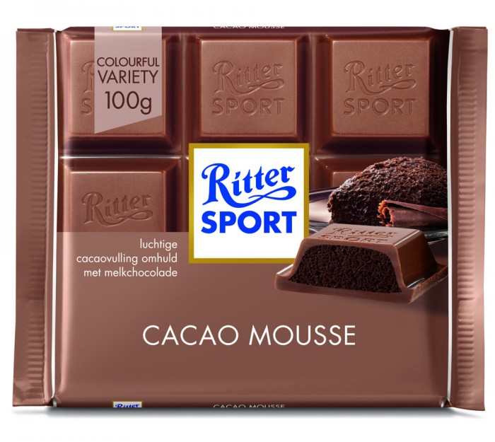RITTER CHOCOLATE CACAO MOUSSE 100 GR