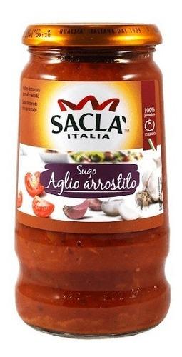 SACLA SALSA AGLIO ARROSTITO 420G
