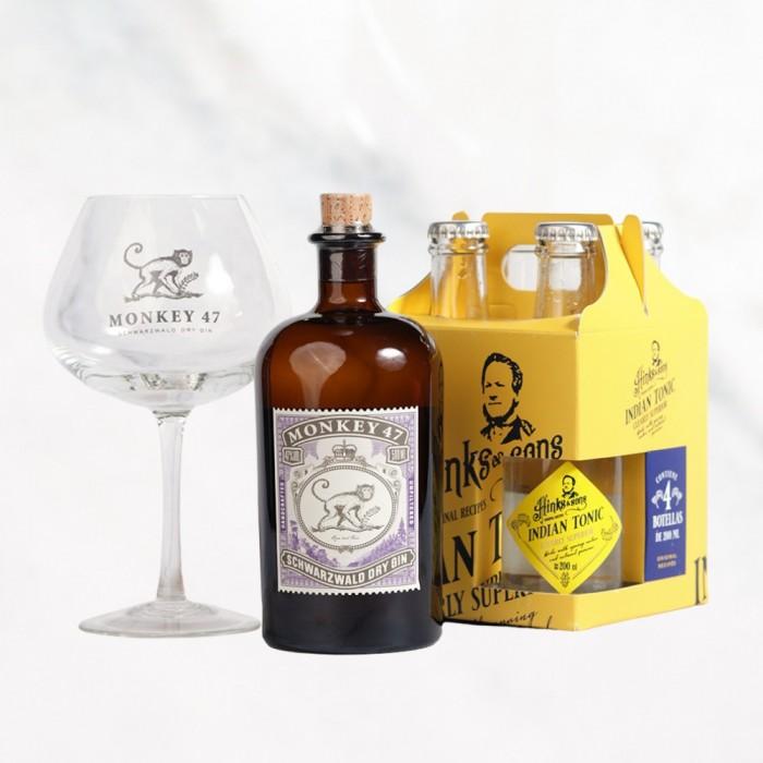 GIN MONKEY + COPON + INDIAN TONIC