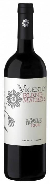 VINO VICENTIN BLEND DE MALBECS 750 CC