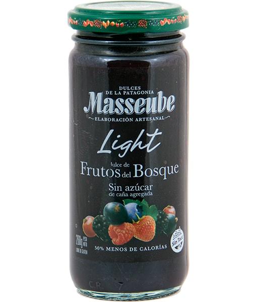 MASSEUBE FRUTOS DEL BOSQUE LIGHT 260 GR