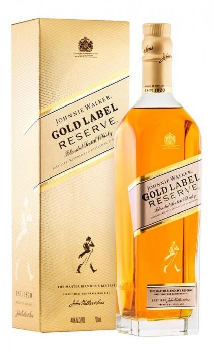 WISHKY JOHNNIE WALKER GOLD RESERVE