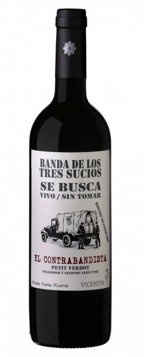 VINO LA BANDA DE LOS TRES SUCIOS CONTRABANDISTA 750 CC