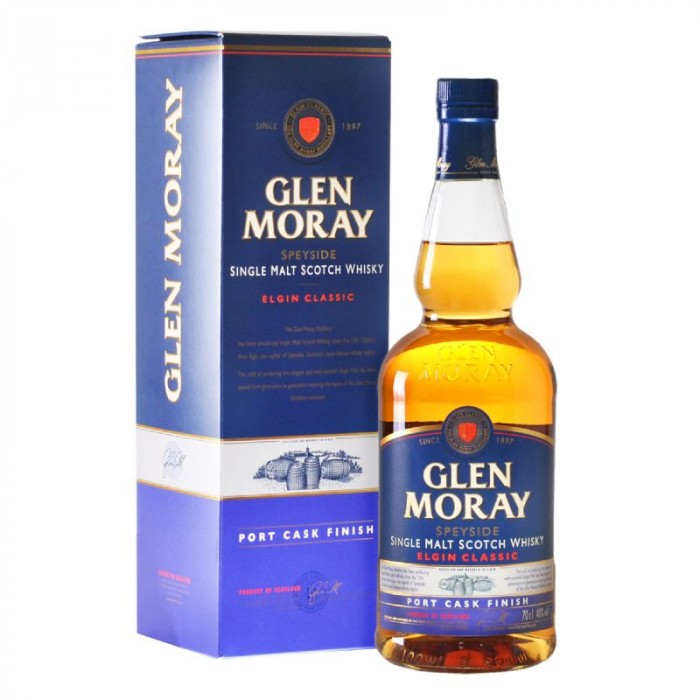 WHISKY GLEN MORAY CLASSIC PORT 700 CC