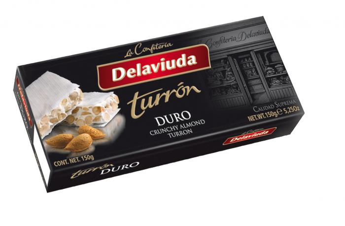 DELAVIUDA TURRON DURO 150 GR