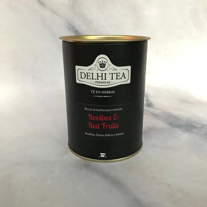 DELHI TEA ROOIBOS RED FRUIT 100 GR
