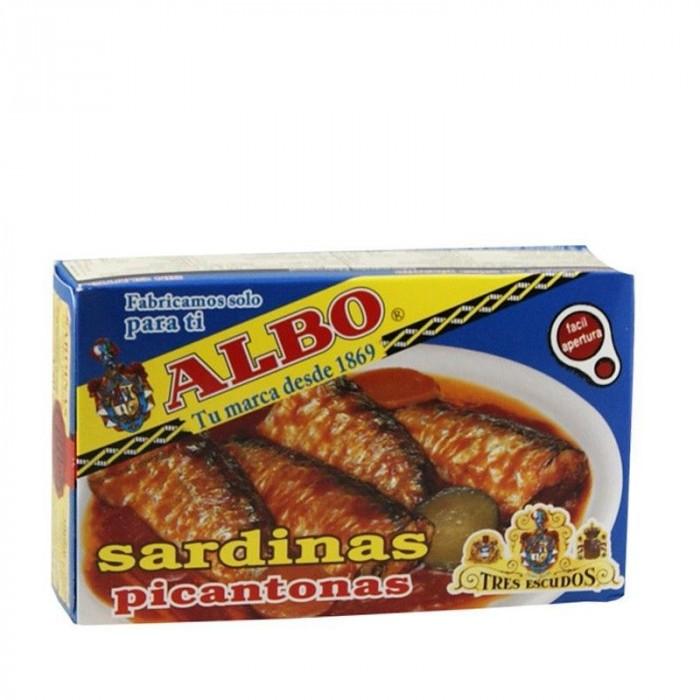 ALBO SARDINA SALSA PICANT 120 GR