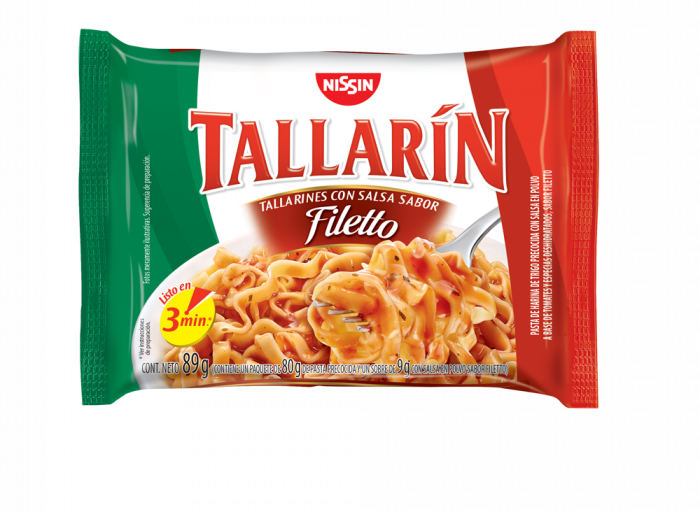 NISSIN TALLARIN FILETTO 89 GR