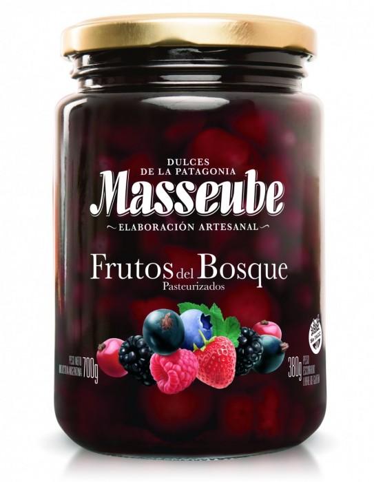 MASSEUBE FRUTOS DEL BOSQUE 700 GR
