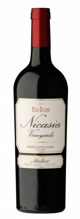 NICASIA VINEYARDS RED BLEND MALBEC 500 CC