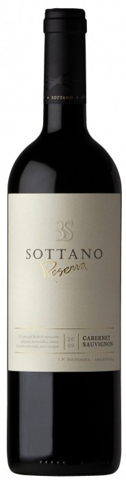SOTTANO RESERVA CABERNET SAUVIGNON 750 CC