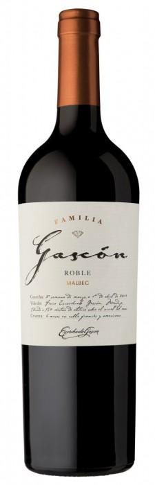 FAMILIA GASCON ROBLE MALBEC 750 CC