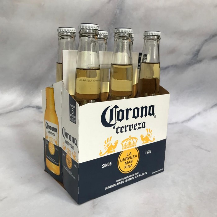 PACK CORONA BOTELLA 330 x6