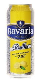 BAVARIA RADLER LEMON LATA 500 ML