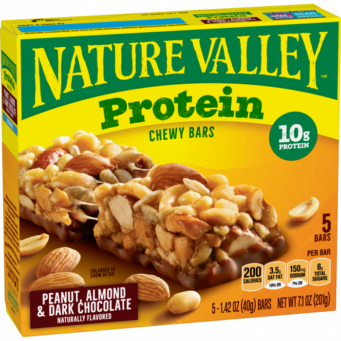 NATURAL VALLEY PEANUT, ALMOND & DARK CHOCOLATE 201 GR