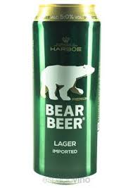 BEAR BEER LAGER LATA 500 ML