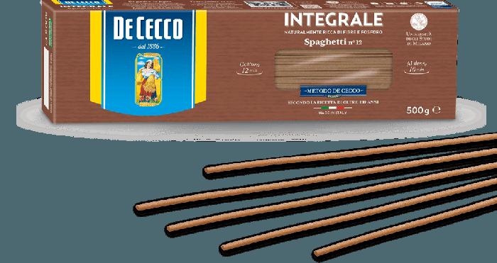DE CECCO SPAGHETTIS INTEGRAL 500 GR