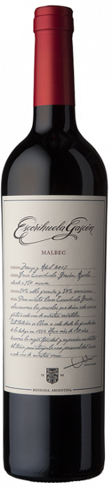 ESCORIHUELA GASCON MALBEC 750 CC
