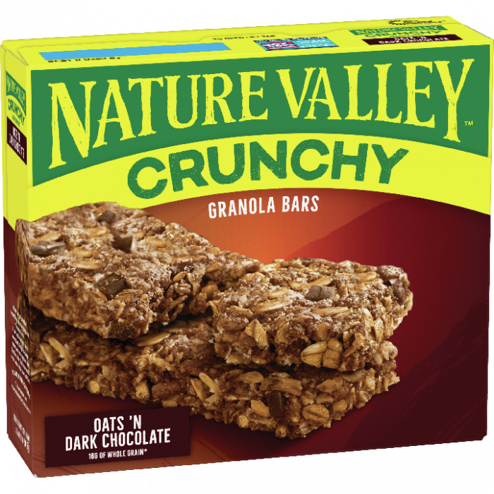 NATURAL VALLEY OATS DARK CHOCOLATE  253 GR