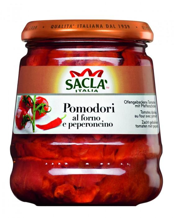SACLA POMODORI Y PEPERONCINO 285 GR