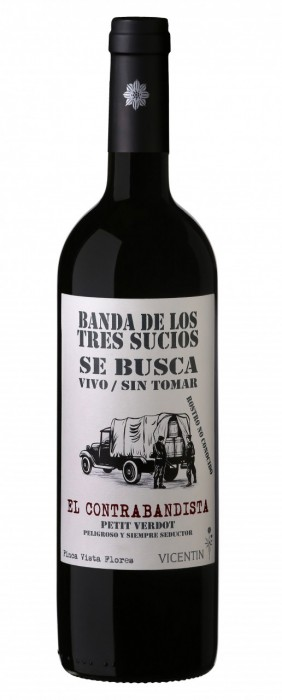 LA BANDA DE LOS TRES SUCIOS CONTRABANDISTA 750 CC