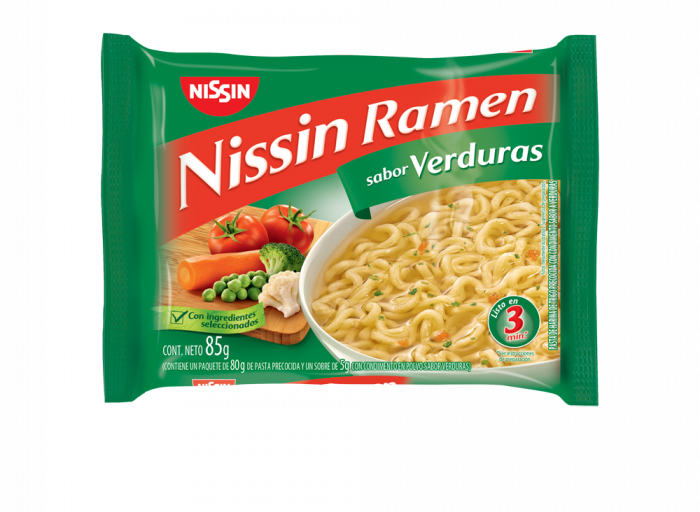NISSIN RAMEN VERDURA 85 GR