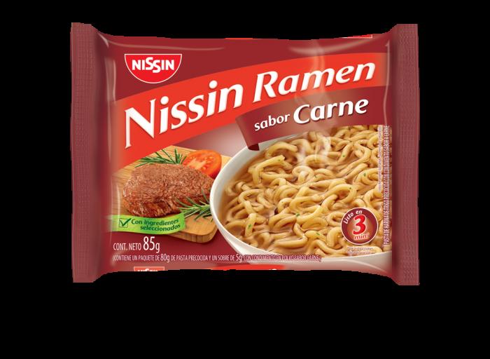 NISSIN RAMEN CARNE 85 GR