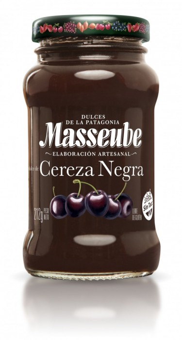 MASSEUBE CEREZA NEGRA 212 GR