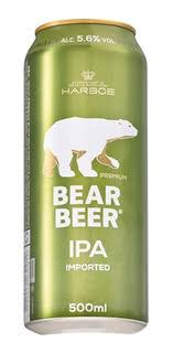 BEAR BEER IPA LATA 500 ML