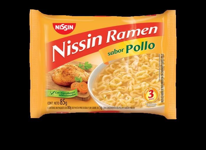 NISSIN RAMEN POLLO 85 GR