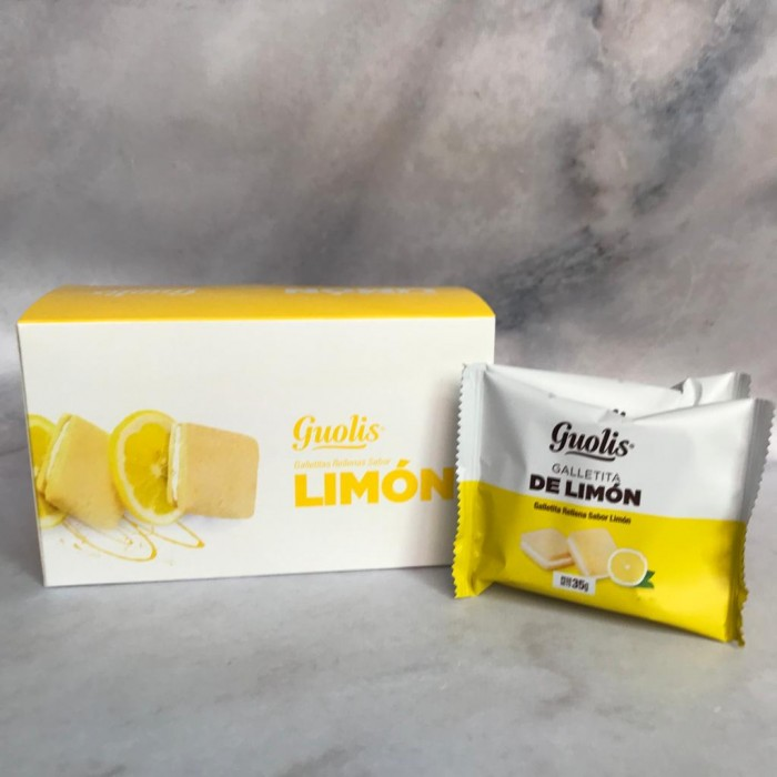 GUOLIS GALLETITAS LIMON